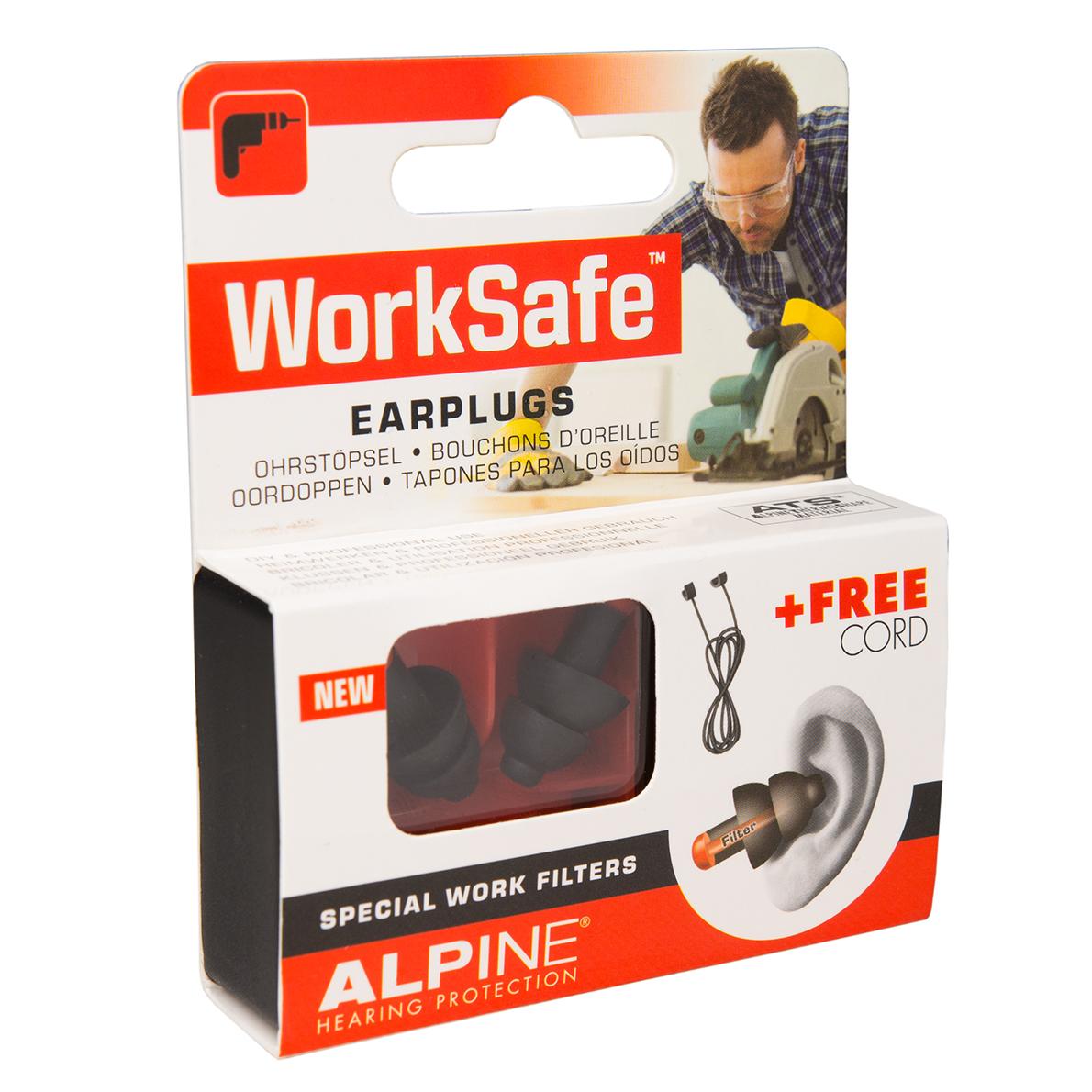 alpine worksafe tappi per orecchie protezione udito